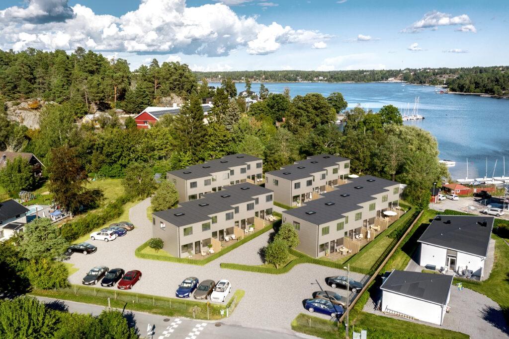Process om avtal för bostäder i Kummelnäs